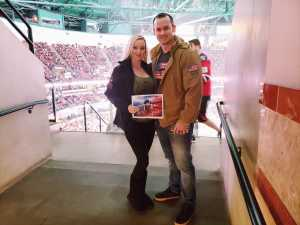 Brad Miller attended Anaheim Ducks vs. Montreal Canadiens - NHL on Mar 8th 2019 via VetTix