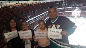 Click To Read More Feedback from Anaheim Ducks vs. Montreal Canadiens - NHL