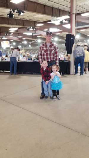 Andrew attended 66th Annual Parada Del Sol Rodeo - Sunday on Mar 10th 2019 via VetTix