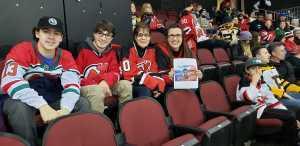 Laura attended New Jersey Devils vs. Boston Bruins - NHL on Mar 21st 2019 via VetTix