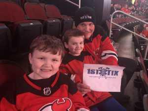 Matthew attended New Jersey Devils vs. Buffalo Sabres - NHL on Mar 25th 2019 via VetTix