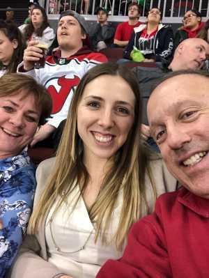 Gregory attended New Jersey Devils vs. Buffalo Sabres - NHL on Mar 25th 2019 via VetTix