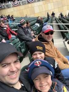 caleb attended Minnesota Twins vs. Cleveland Indians  - MLB on Mar 31st 2019 via VetTix