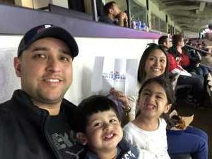 Richard attended San Antonio Commanders vs. Salt Lake Stallions - AAF on Mar 23rd 2019 via VetTix