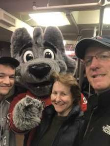 Rich attended Hartford Wolf Pack vs. Hershey Bears - AHL on Apr 12th 2019 via VetTix