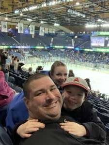 Nicholas attended Chicago Wolves vs. Manitoba Moose - AHL - Special Instructions * See Notes on Apr 13th 2019 via VetTix