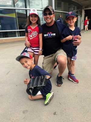 Danny attended Minnesota Twins vs. Chicago White Sox - MLB on May 25th 2019 via VetTix