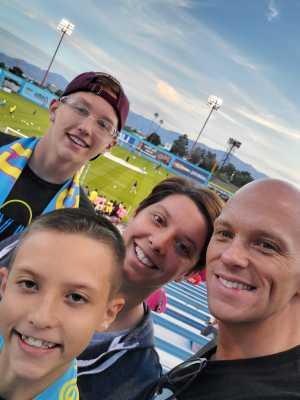 Mark attended Las Vegas Lights vs. Seattle Sounders FC 2 - USL on Apr 13th 2019 via VetTix