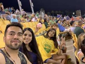 Juan attended Tampa Bay Rowdies vs Louisville City FC - USL on Apr 13th 2019 via VetTix