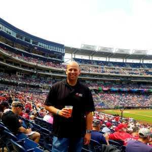 Michael attended Washington Nationals vs. San Francisco Giants - MLB on Apr 18th 2019 via VetTix
