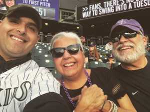Paul attended Colorado Rockies vs. Atlanta Braves - MLB on Apr 9th 2019 via VetTix