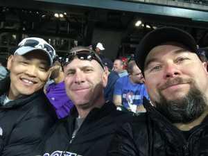 Casey attended Colorado Rockies vs. Philadelphia Phillies - MLB on Apr 18th 2019 via VetTix