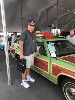 John  attended Barrett Jackson - the World's Greatest Collector Car Auction in Palm Beach, Fl - 2 for 1, 1 Tickets Gets 2 People in on Apr 13th 2019 via VetTix