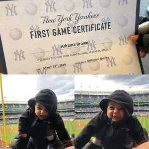 richard brown attended New York Yankees vs. Baltimore Orioles - MLB on Mar 31st 2019 via VetTix