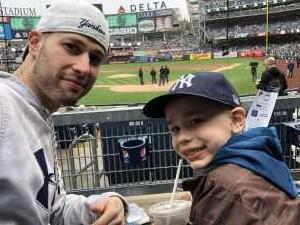 Joseph attended New York Yankees vs. Kansas City Royals - MLB on Apr 20th 2019 via VetTix
