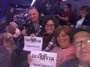 Charles attended Kenny Chesney: Songs for the Saints Tour - Country on Apr 7th 2019 via VetTix