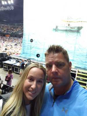 Jeromy attended Kenny Chesney: Songs for the Saints Tour - Country on Apr 7th 2019 via VetTix