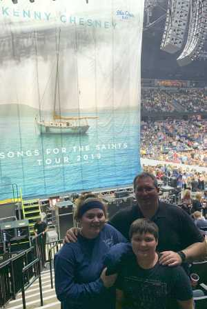 Ryan attended Kenny Chesney: Songs for the Saints Tour - Country on Apr 7th 2019 via VetTix