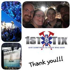 Ashley attended Kenny Chesney: Songs for the Saints Tour - Country on Apr 7th 2019 via VetTix