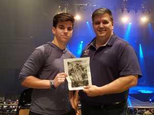 Kelly attended Chris Tomlin Holy Roar Tour - Thursday on Apr 11th 2019 via VetTix