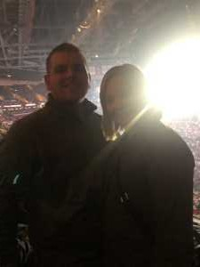 Nicholas attended Eric Church: Double Down Tour Friday Only on Apr 19th 2019 via VetTix