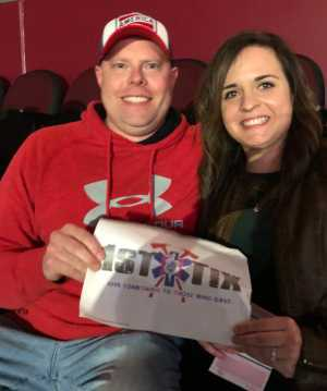 Rachel attended Eric Church: Double Down Tour Friday Only on Apr 19th 2019 via VetTix