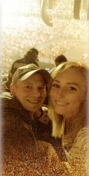 Bethany attended Eric Church: Double Down Tour Friday Only on Apr 19th 2019 via VetTix