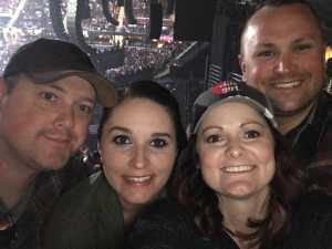 Trevor attended Eric Church: Double Down Tour Friday Only on Apr 19th 2019 via VetTix
