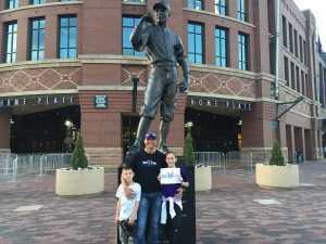 Todd attended Colorado Rockies vs. Washington Nationals - MLB on Apr 23rd 2019 via VetTix