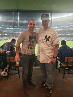 Joseph attended New York Yankees vs. Kansas City Royals - MLB on Apr 19th 2019 via VetTix