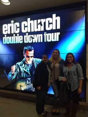 Steve H attended Eric Church: Double Down Tour - Saturday Only on Apr 20th 2019 via VetTix