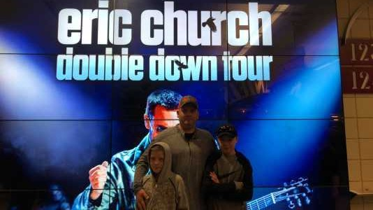Casie attended Eric Church: Double Down Tour - Saturday Only on Apr 20th 2019 via VetTix