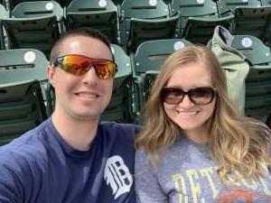 Devin attended Detroit Tigers vs. Kansas City Royals - MLB on Apr 7th 2019 via VetTix