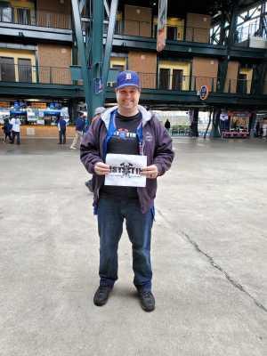 Brandon attended Detroit Tigers vs. Cleveland Indians - MLB on Apr 10th 2019 via VetTix