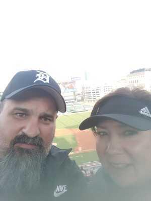 Robert attended Detroit Tigers vs. Pittsburgh Pirates - MLB on Apr 16th 2019 via VetTix