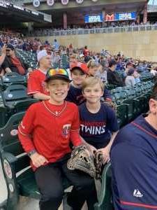 Chad Peterson attended Minnesota Twins vs. Los Angeles Angels - MLB on May 13th 2019 via VetTix