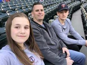 Mark attended Minnesota Twins vs. Los Angeles Angels - MLB on May 13th 2019 via VetTix
