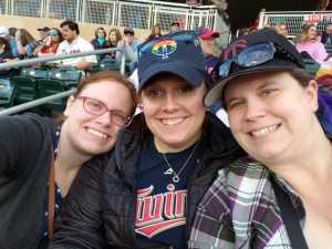 Elizabeth attended Minnesota Twins vs. Los Angeles Angels - MLB on May 13th 2019 via VetTix