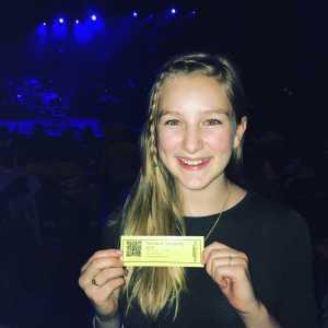Michael attended Francesca Battistelli - Own It Tour on Apr 13th 2019 via VetTix