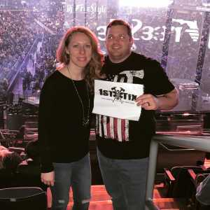 Michael attended Justin Timberlake - the Man of the Woods Tour - Pop on Mar 31st 2019 via VetTix