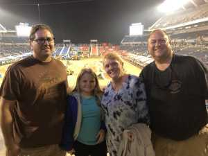 Bryan attended Monster Jam World Finals - Motorsports/racing on May 10th 2019 via VetTix