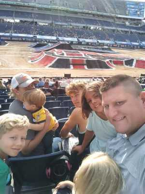 George attended Monster Jam World Finals - Motorsports/racing on May 10th 2019 via VetTix