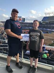 Daniel attended Monster Jam World Finals - Motorsports/racing on May 10th 2019 via VetTix