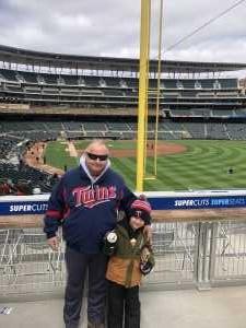 Tino  attended Minnesota Twins vs. Detroit Tigers - MLB on Apr 13th 2019 via VetTix