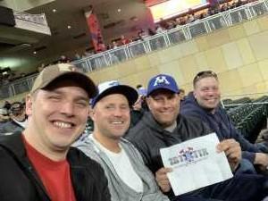 Dave attended Minnesota Twins vs. Toronto Blue Jays - MLB on Apr 16th 2019 via VetTix