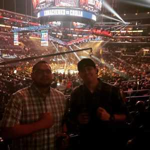 Travis attended Top Rank Presents: Lomachenko vs. Crolla on Apr 12th 2019 via VetTix