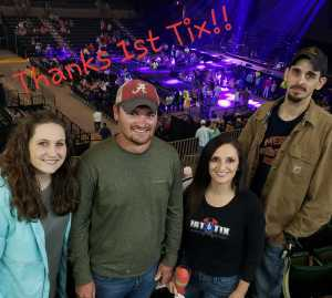 Lisa attended Old Dominion - Make It Sweet Tour on Apr 13th 2019 via VetTix