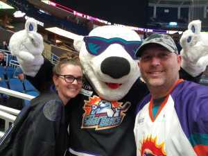 Bryan attended Orlando Solar Bears vs. TBD - ECHL - 2019 Kelly Cup Playoffs - Round 1 - Game 1 on Apr 10th 2019 via VetTix