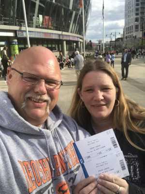 Jeffrey attended Chris Tomlin Holy Roar Tour on Apr 18th 2019 via VetTix
