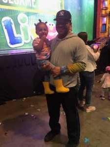 Kevin attended Sesame Street Live: Make Your Magic on Apr 12th 2019 via VetTix